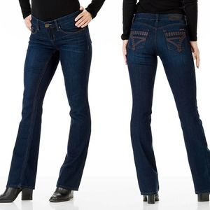 Seven7 Baby Boot Womens Jeans 8